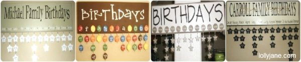 Lollyjane Birthday Boards