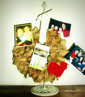 wreath christmas card holder