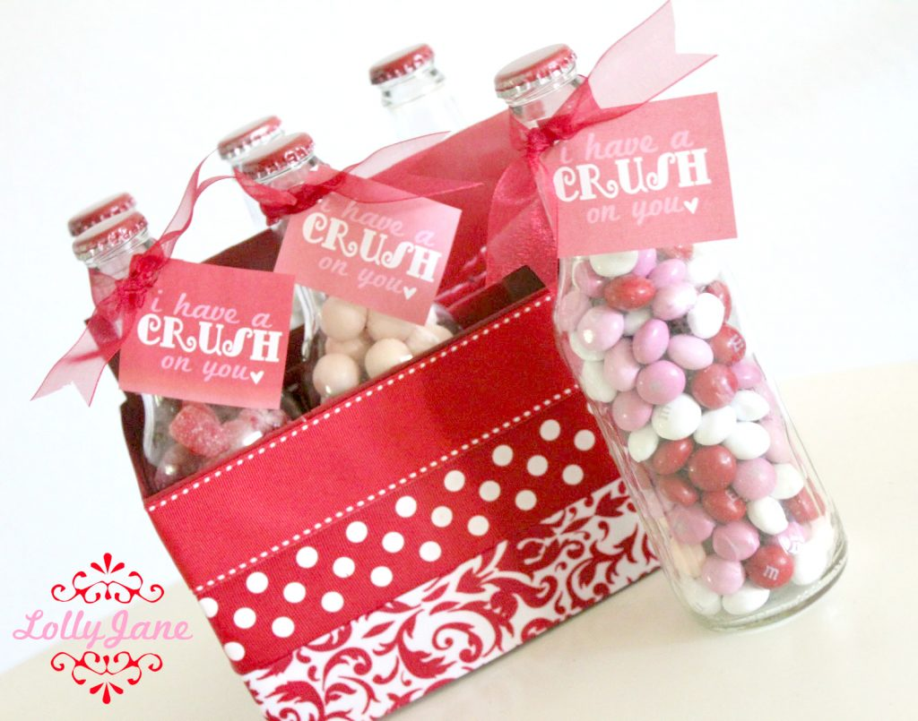 Valentines Day Pop Bottle Gift Set |Crush on you