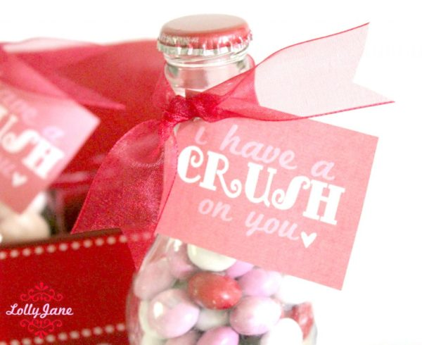 Valentines Day Pop Bottle Gift Set Crush On You
