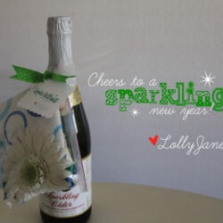 A sparkling new year: New Years Neighbor Gift