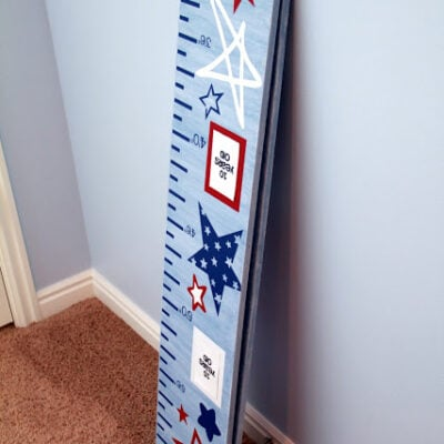 How to Make a Folding Growth Chart