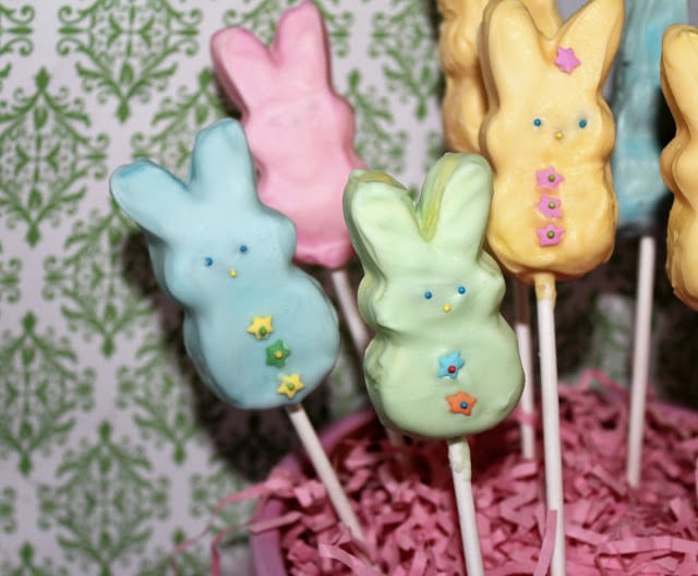 Marshmallow covered peeps