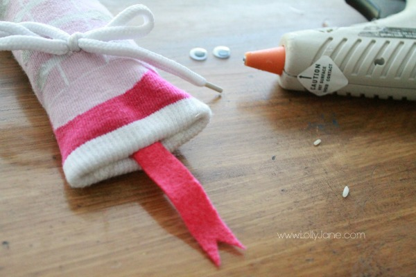 Easy sock snake tutorial!
