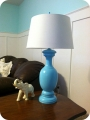 turquoise lamp lolly jane