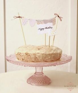 Bunting bundt cake by LollyJane