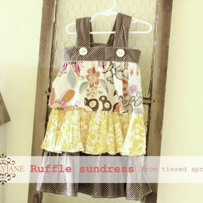 Repurposed: Apron to Sundress