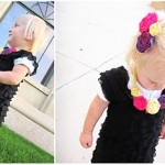 DIY ruffle dress