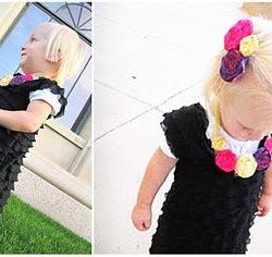 diy toddler ruffle dress