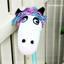 stick horse tutorial