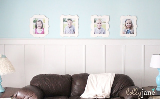 Lolly Jane funky picture frame kids display