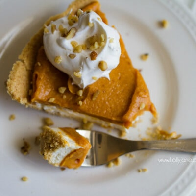 Sensational Cheesecake Double Layer Pumpkin Pie