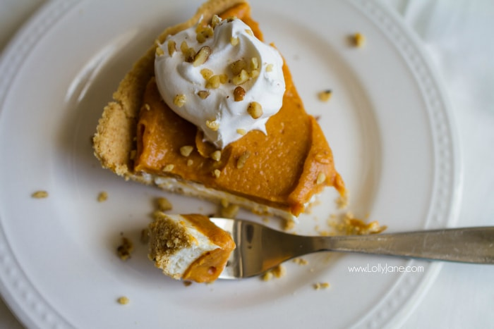 Sensational Cheesecake Double Layer Pumpkin Pie