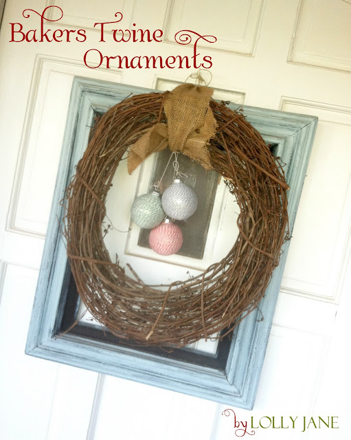 Baker's Twine Ornaments