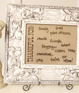 dry erase picture frame #gluenglitter (3)