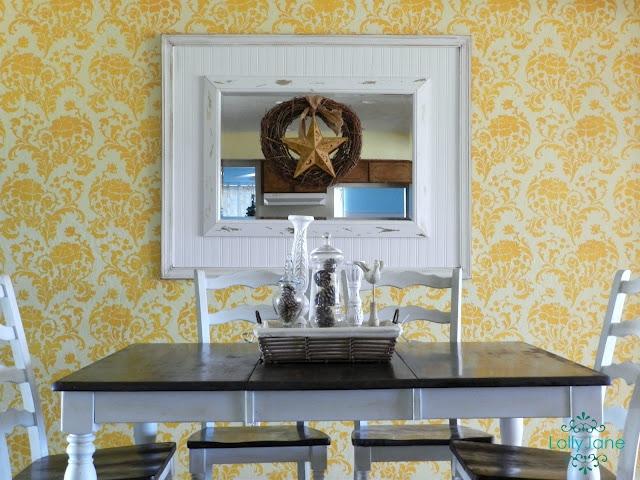 diy large beadboard molding mirror. Black Bedroom Furniture Sets. Home Design Ideas