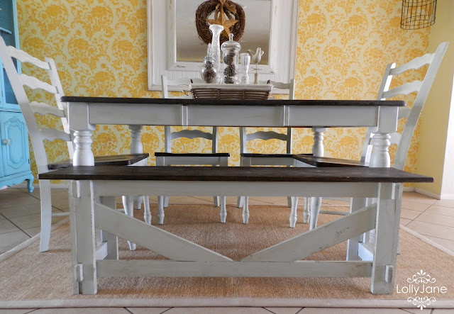 Dining Room Table Re-do