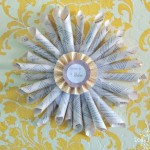 HOW TO MAKE A BOOK PAGE WREATH TUTORIAL by LOLLY JANE