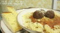 Fusilli and meatball recipe