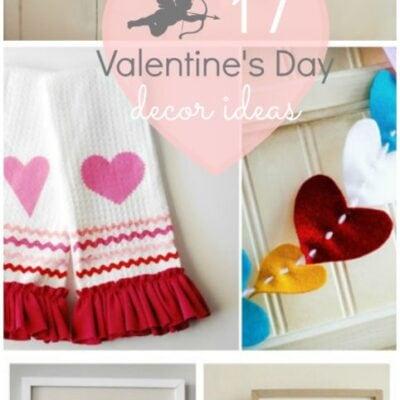 Valentine's Day decor ideas ♥