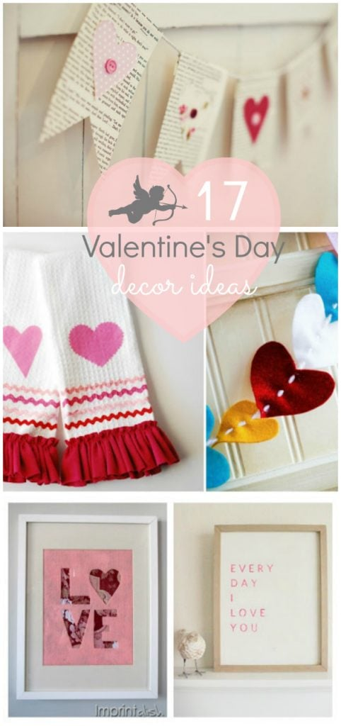 Valentine's Day decor ideas ♥