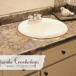 DIY Granite Countertops by LollyJane