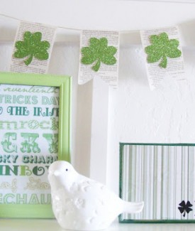 lolly jane simple st patricks day decor irish block
