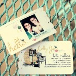 Lolly Jane business cards tutorial DIY