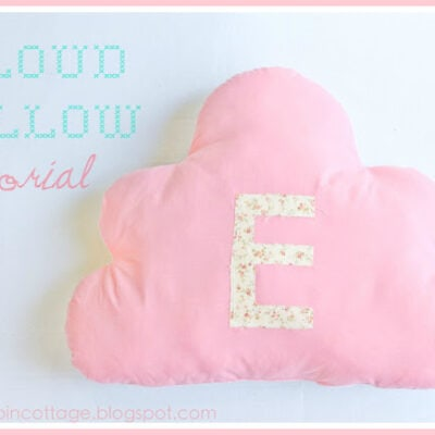 Cloud Pillow Tutorial