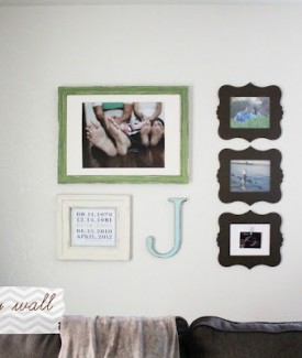 www.lollyjane.com Picture Gallery Wall