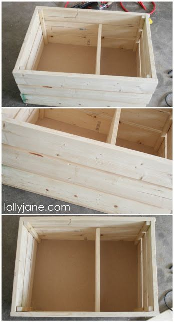 COOL Crates You Can DIY + they're on casters! Awesome for kids toys, blanket storage or in any space! Easy weekend build!