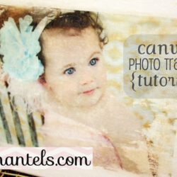 Canvas Photo Transfer Tutorial