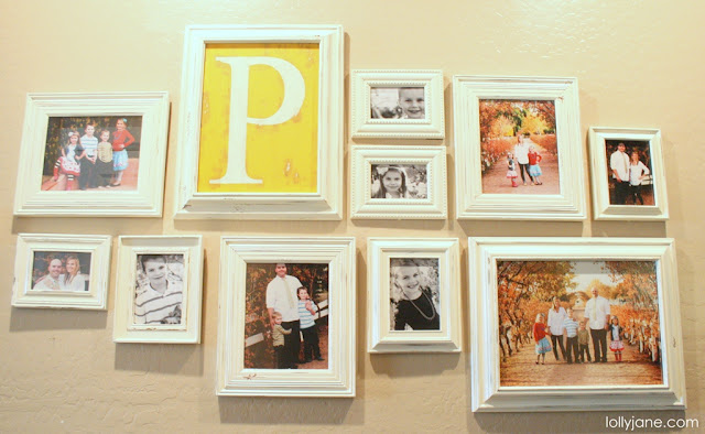 DIY Gallery Photo Wall LollyJane (5)