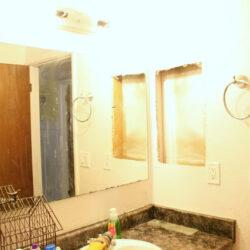 DIY Affordable Custom Bathroom Molding