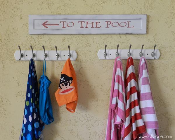 Cute Wood Pool Sign lollyjane (2)
