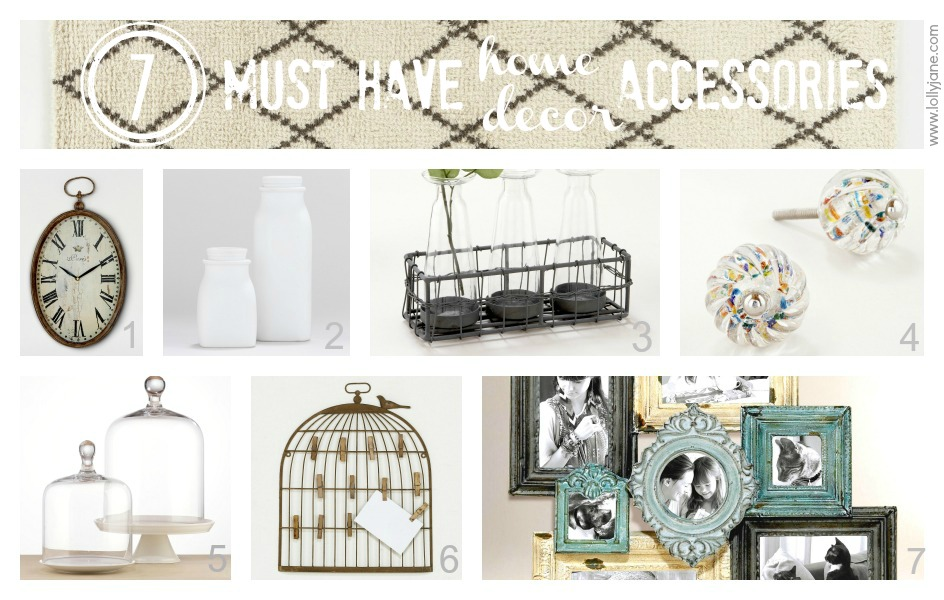 7 Must Have Home Decor Accessories