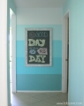 Chalkboard Frame Wall Decor Ombre Accent Wall lollyjane (2)