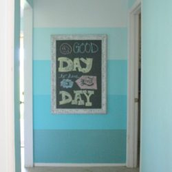 Chalkboard Frame Wall Decor