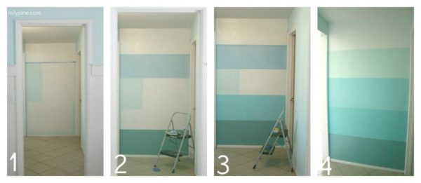 Ombre accent wall how to paint lollyjane 600x261g this solutioingenieria Image collections