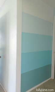 ombre wall lollyjane.com