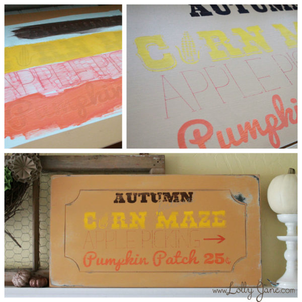 Fall-Sign
