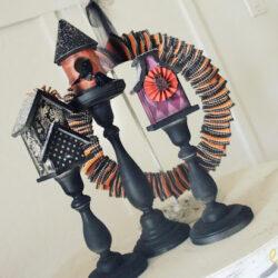Haunted birdhouses   Halloween craft