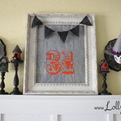 Skull Plaques | Halloween craft