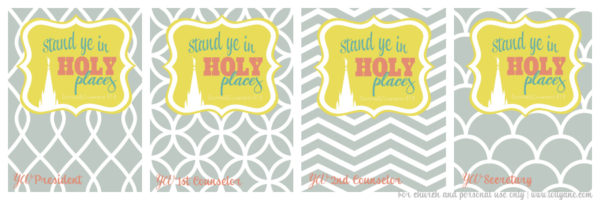 yw stand in holy places binder covers