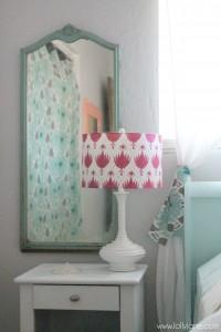 coral tween girl bedroom lollyjane (7)