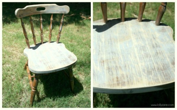 painting  Then. how to distress furniture with spray paint and a sander