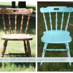 how to distress furniture with spray paint and a sander lollyjane.com