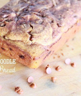 Pumpkin Snickerdoodle Bread recipe lollyjane.com