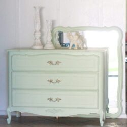 Mint Dresser Redo |painting tutorial