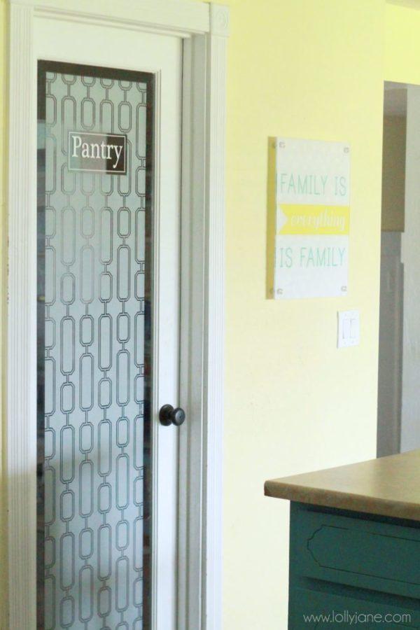 Pantry door idea for Window and door companies near me